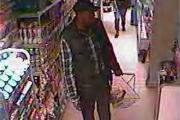 Cops want to speak to this guy in connection with shoplifting in Broadclyst